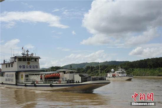 资料图:联合巡航队巡航。中新社记者 王柄皓 摄