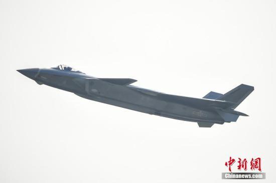 资料图:战斗机歼-20。 <a target='_blank' href='http://www.chinanews.com/'>中新社</a>记者 陈骥�F 摄