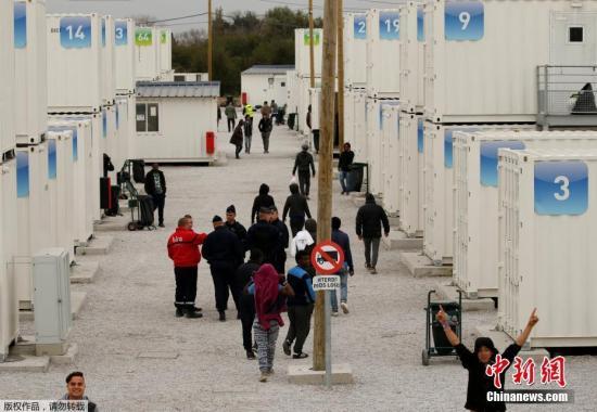 欧盟五国内政部长开移民会议 就难民安置达成共识