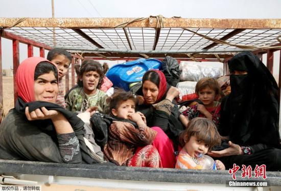 伊拉克联合行动指挥部于当地时间10月31日发表声明,宣布军方已经展开摩苏尔攻城行动。据伊拉克政府军情报显示,极端组织武装分子已经后退至西城,并强迫大部分居民转移到老城区,企图利用地形优势与政府军进行巷战。图为11月1日,在伊拉克摩苏尔附近一名男孩牵引牲畜从极端组织控制的村庄逃离。