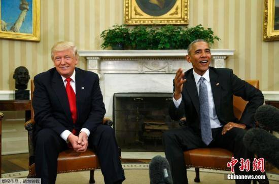 """总统的""""官微"""",奥巴马和特朗普打算怎么交接?"""
