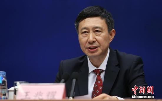 中国载人航天工程办公室主任王兆耀(资料图)。 中新社记者 杨可佳 摄