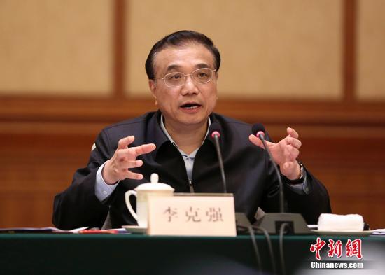 11月21日,中共中央政治局常委、国务院总理李克强在上海主持召开深化简政放权放管结合优化服务改革座谈会,研究部署相关工作。来自东、中、西、东北地区11个省份或地级市政府负责人参加。 <a target='_blank' href='http://www.chinanews.com/'>中新社</a>记者 刘震 摄