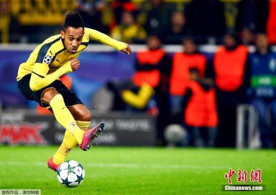 欧联杯-奥巴梅杨化身黑豹 阿森纳逆转雷恩晋级八强