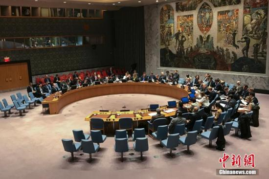 资料图:联合国安理会。<a target='_blank' href='http://www.chinanews.com/'>中新社</a>记者 廖攀 摄