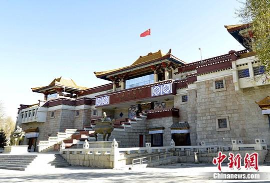 资料图:西藏博物馆。中新社记者 李林 摄