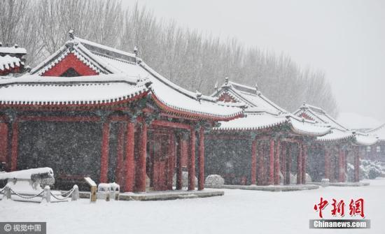 图为沈阳故宫。图片来源:视觉中国