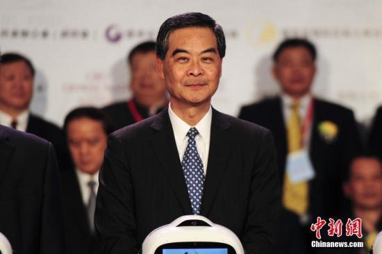 资料图 香港特别行政区行政长官梁振英 <a target='_blank' href='http://www.chinanews.com/'>中新社</a>记者 陈骥旻 摄