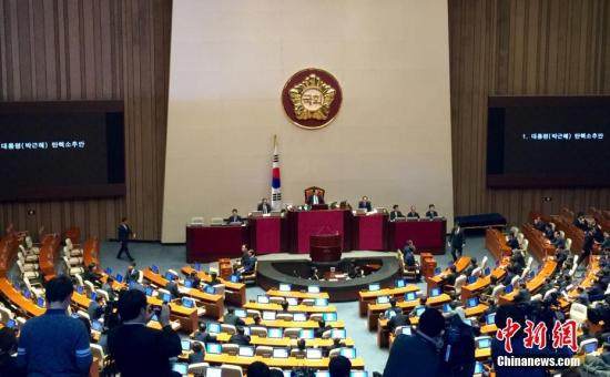 资料图片:韩国国会。中新社记者 吴旭 摄