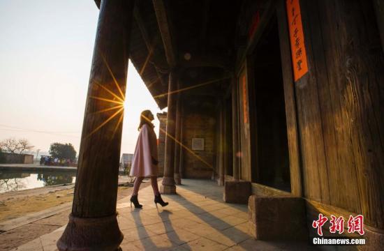 资料图:江西金溪县有着600多年历史的中国历史文化名村、中国传统村落竹桥古村。傅建斌 摄