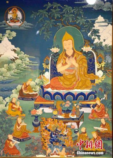 西藏唐卡画师贡觉杰的成长与蜕变