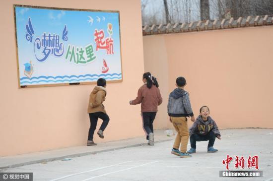 山西一乡村学校。 图片来源:视觉中国