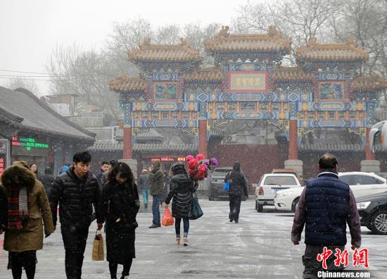 """飘雪不算""""有效降水"""" 北京为何小半年干旱?"""