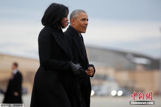 奥巴马夫人吐槽丈夫:我曾想把他从窗户推下去……