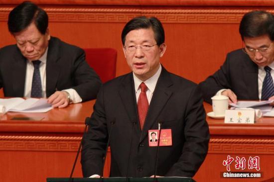 资料图 天津市长王东峰。<a target='_blank' href='http://www.chinanews.com/'>中新社</a>记者 佟郁 摄