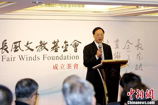 图为江宜桦。 <a target='_blank' href='http://www.chinanews.com/'>中新社</a>记者 陈小愿 摄