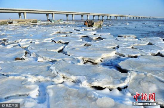资料图:海冰。 图片来源:视觉中国