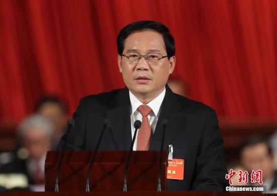资料图:江苏省委书记李强 记者 泱波 摄