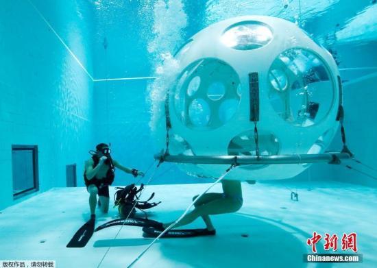 欧洲首座水下餐厅于挪威开张逾7000人慕名预约