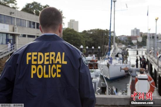 當地時間2017年2月5-6日,澳大利亞悉尼,澳警方上周繳獲1.4噸可卡因,價值約2.4億美元。