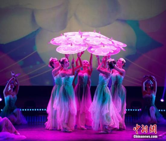 图为舞蹈《茉莉花开》。 <a target='_blank' href='http://www.chinanews.com/'>中新社</a>记者 吴旭 摄