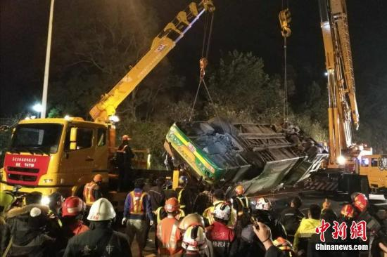 """台湾""""2・13""""游览车事故致33死 检方侦结不起诉"""