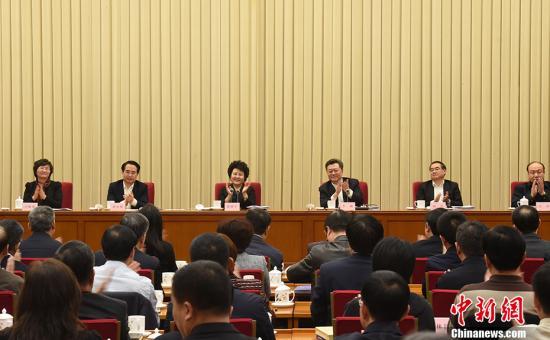 2月19日,全国侨办主任会议在北京召开。<a target='_blank' href='http://www.chinanews.com/'>中新社</a>记者 张勤 摄