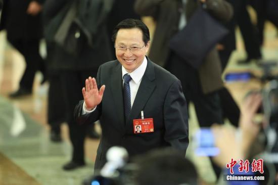 资料图:农业部部长韩长赋 <a target='_blank' href='http://www.chinanews.com/'>中新社</a>记者 盛佳鹏 摄