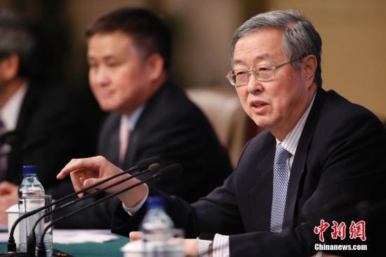 资料图:中国人民银行行长周小川。记者 杜洋 摄