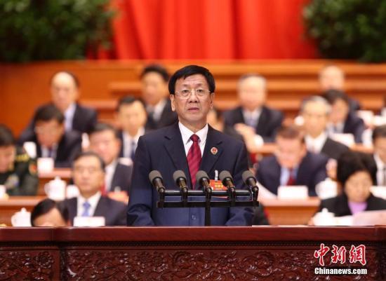 3月12日,十二届全国人大五次会议在北京人民大会堂举行第三次全体会议,最高人民检察院检察长曹建明作最高人民检察院工作报告。 记者 刘震 摄