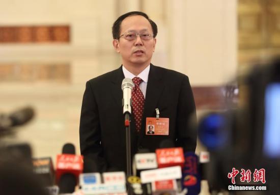 资料图:国家体育总局局长苟仲文。 中新社记者 泱波 摄