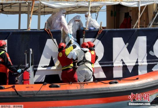利比亚附近的地中海一带是非洲难民前往欧洲的重要区域,去年至少有5000名难民在此丧生。
