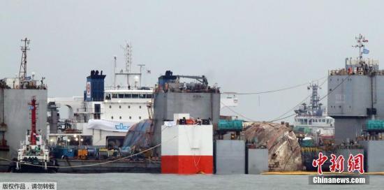 在前往木浦港之前,将采用自然排水的方式排出船舶内残留的海水。排水作业约需3天。
