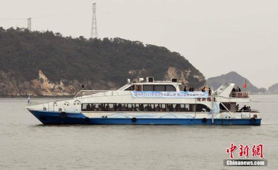材料图:闽江心火域。a target='_blank' href='http://www.chinanews.com/'种孤社/a记者 刘可耕 摄