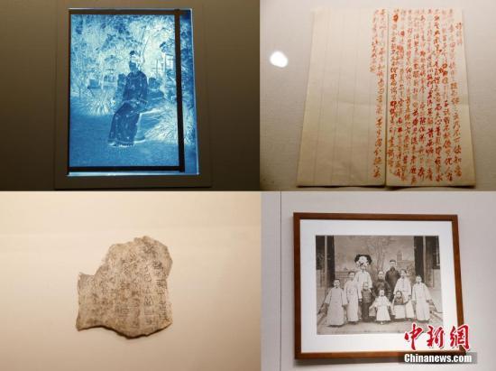 资料图片,故宫博物院藏品总数上升至1862690件。(拼版图片)中新社记者 杜洋 摄