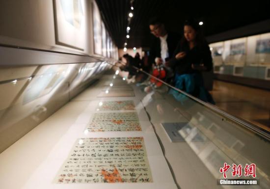 资料图片,故宫博物院藏品总数上升至1862690件。中新社记者 杜洋 摄