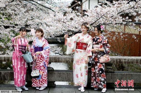 资料图:日本京都。