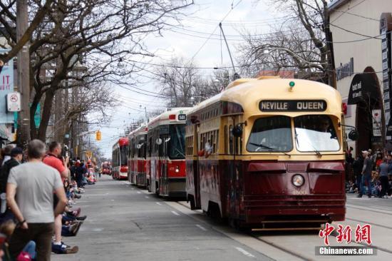 资料图:加拿大多伦多街头。 记者 余瑞冬 摄
