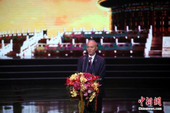 资料图:蔡奇。中新社记者 崔楠 摄
