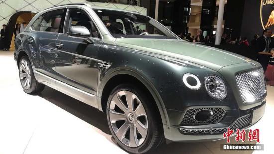 4月19日,上海国际车展在国家会展中心(上海)开幕。中新经纬客户端记者 罗琨 摄