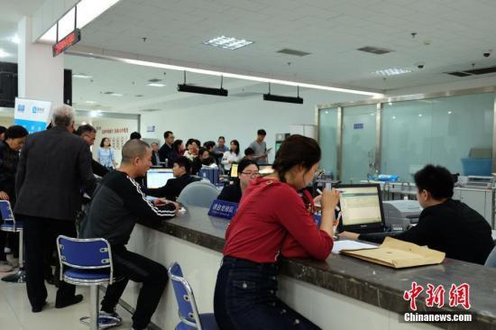 资料图:信访部门受理有关事务。 <a target='_blank' href='http://www.chinanews.com/'>中新社</a>记者 王中举 摄