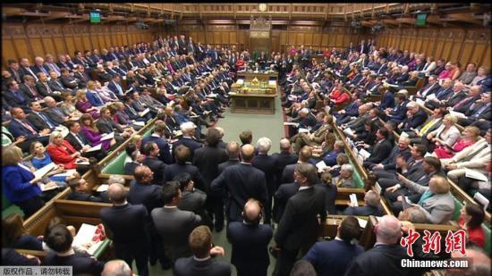 资料图:英国议会批准提前举行大选。
