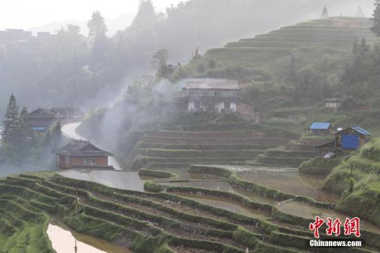 资料图:贵州榕江,谷雨时节耕种忙。中新社记者 贺俊怡 摄