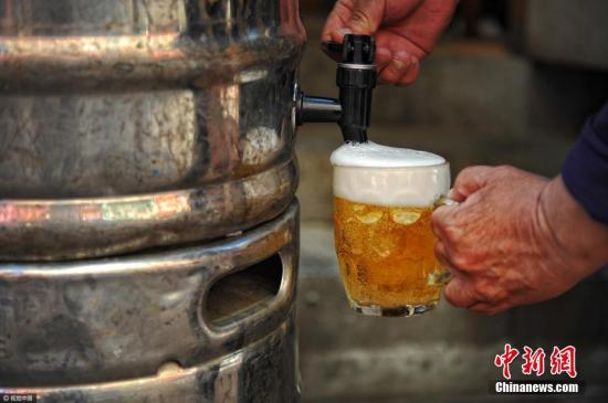资料图:啤酒