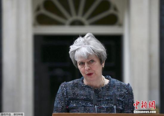 联合早报:英国政局未明特雷莎·梅四面楚歌