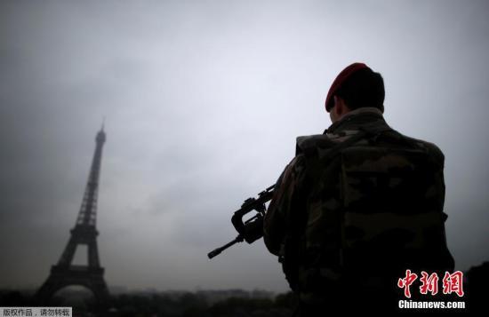 资料图:法国巴黎埃菲尔铁塔。