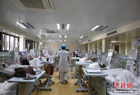 资料图:广西一公立医院。朱柳融 摄