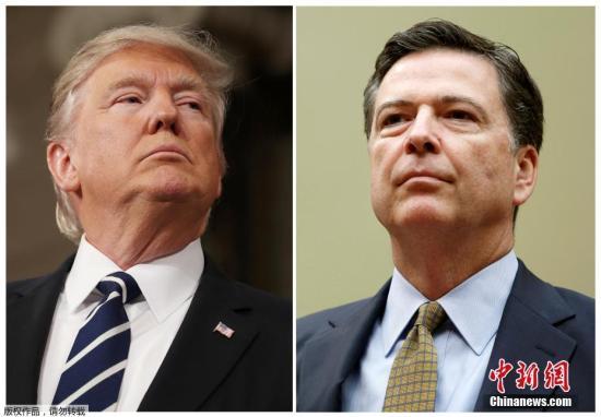 调查称美民众越来越不满特朗普开除FBI前局长科米