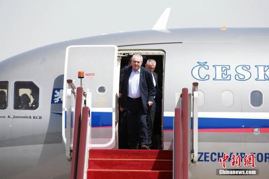 资料图:捷克总统泽曼。 中新社记者 韩海丹 摄