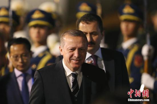 资料图:土耳其总统埃尔多安。 <a target='_blank' href='http://www-chinanews-com.breakingnewsthemovie.com/'>中新社</a>记者 韩海丹 摄